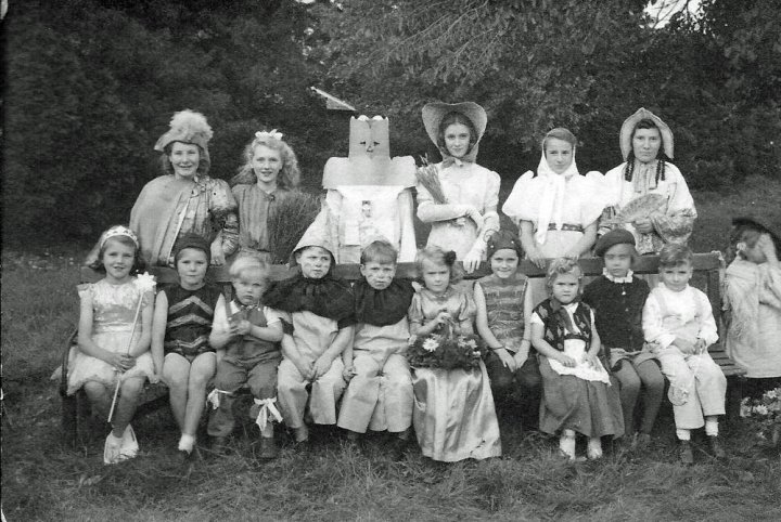 Children's Fancy Dress Competition (Second Group) on Victory in Europe Day 1945