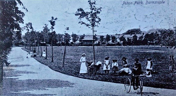 Pilton Park in around 1905