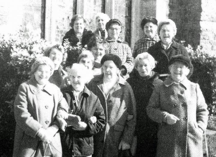 St Mary's Church Pilton Mothers' Union 1986