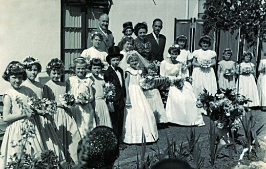 May Fayre at Pilton House, 13th May 1961