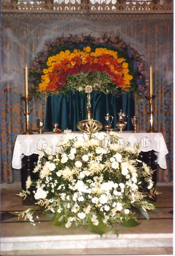 Pilton Flower Festival in 1982