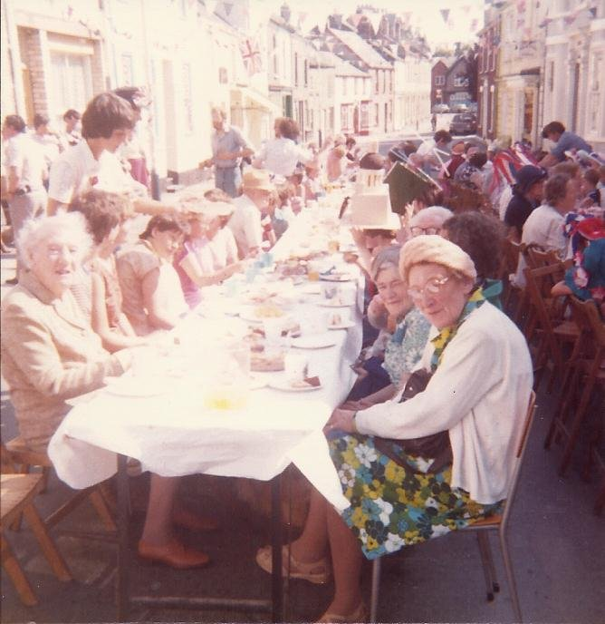 Tea Party for the Royal Wedding in 1981