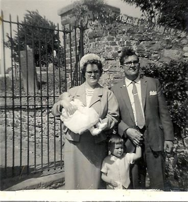 Peggy and Arthur Phillips and Family