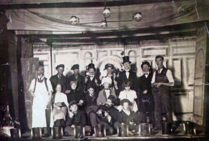 'Oliver Twist' in Pilton Church Hall in 1923-24