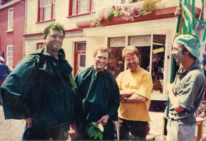 Pilton Green Man Characters from 1995