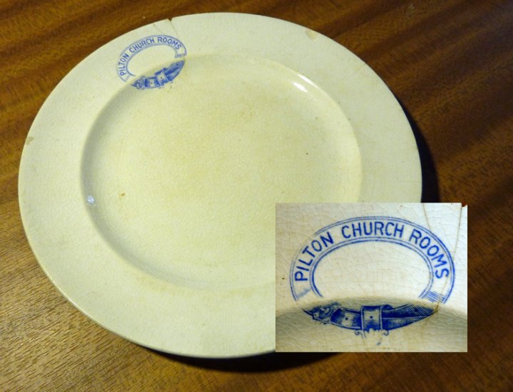Pilton Parish Rooms and its China and a 1907 Church Bazaar