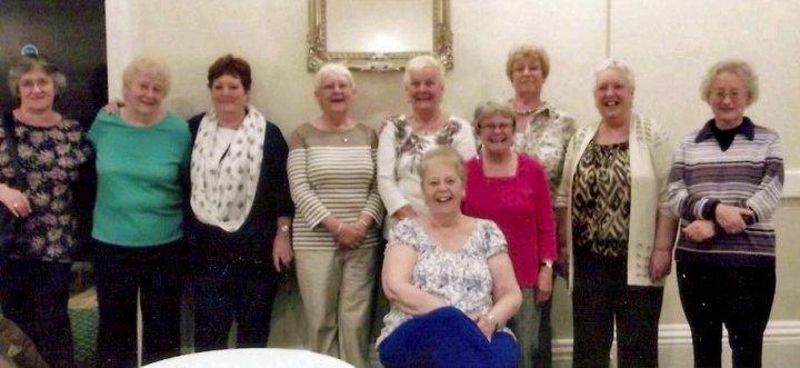 Pilton School Reunion (1945-55) in May 2016 : The Ladies
