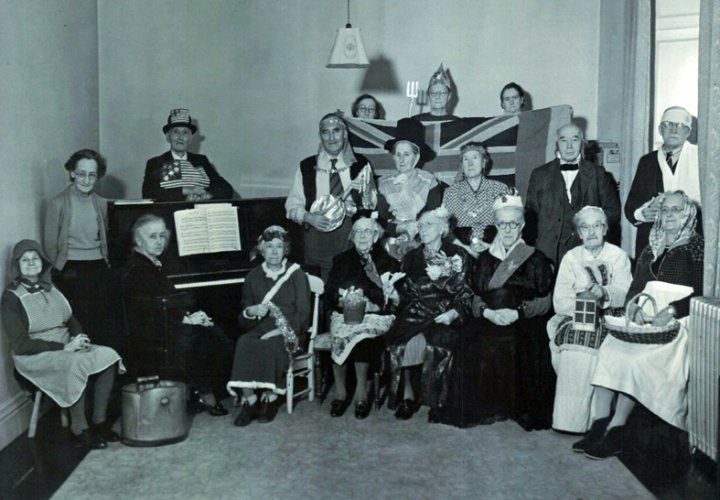 Pilton House Residents' Christmas Party 1954