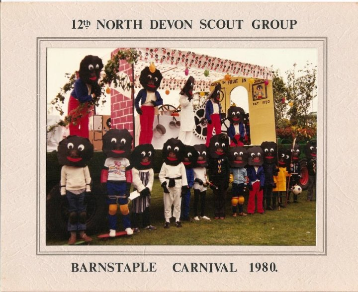 The 12th North Devon Scouts Barnstaple Carnival Float 1980