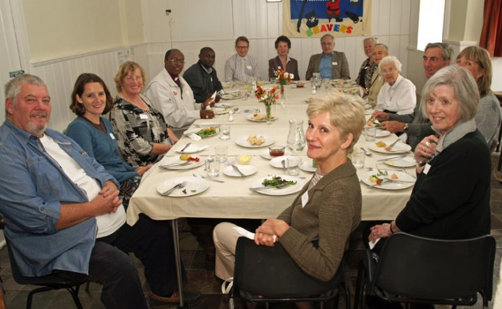 Visit of Thika Diocese in Kenya to Pilton in September 2012