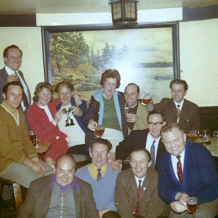 More Celebrations in the Chichester Arms in the 1960s