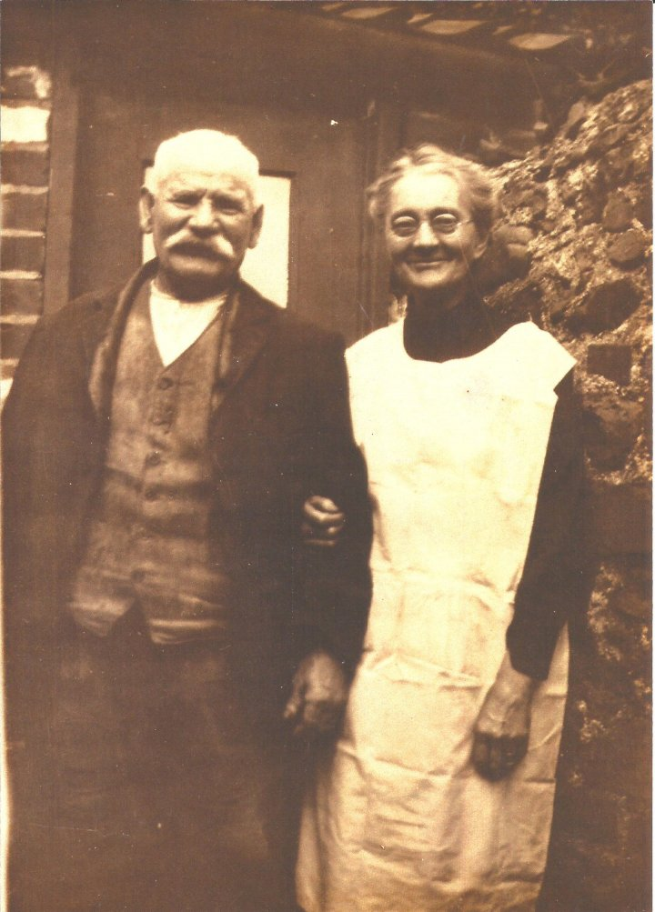 Ellen and Samuel Blake of The Rock, Pilton
