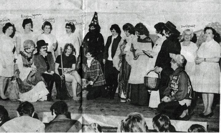 Pilton Women's Institute Pantomime 'Cinderella' in 1974