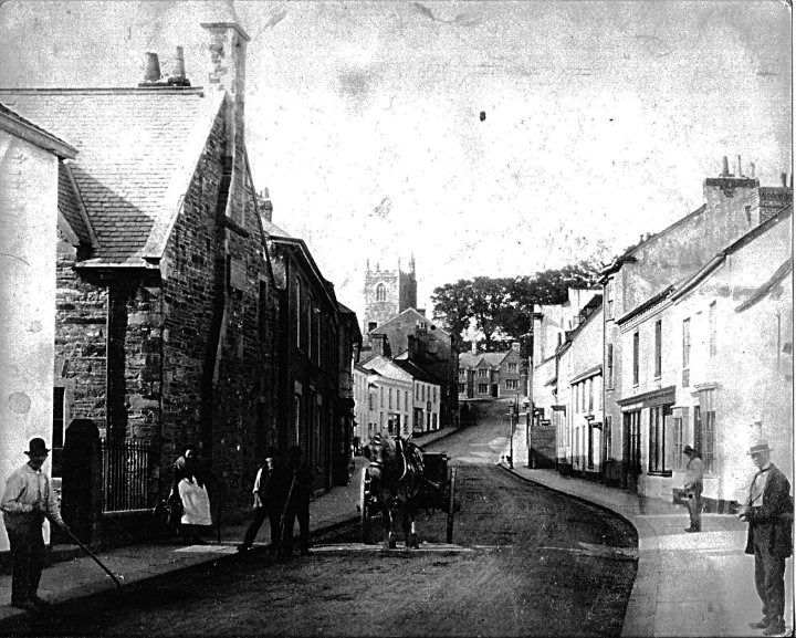 Pilton Street in around 1900