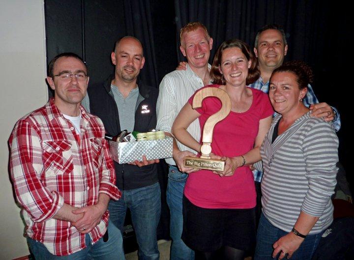 'The Professionals' win the 2012 Big Pilton Quiz