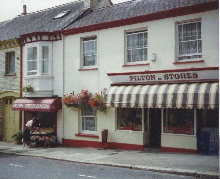 Pilton Stores and Fruit Shop, Pilton Street, circa 1990