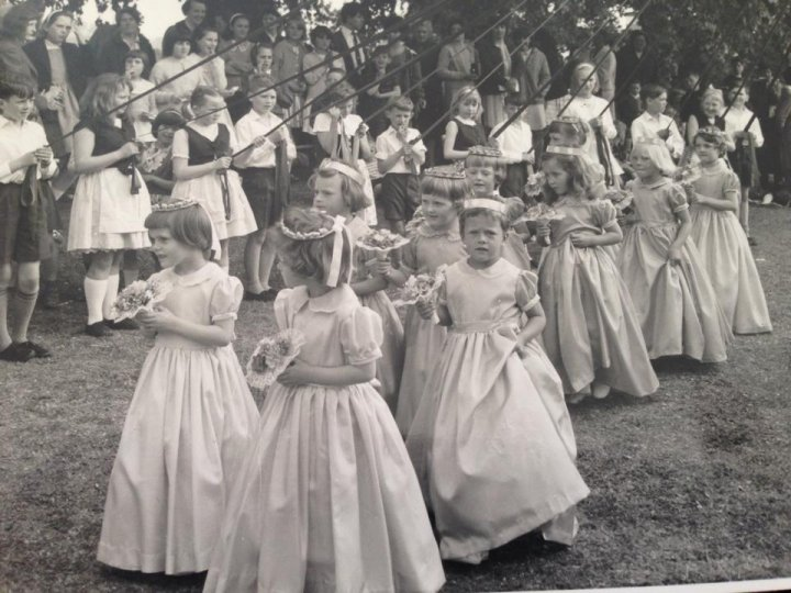 May Day Fayre at Pilton House in 1965