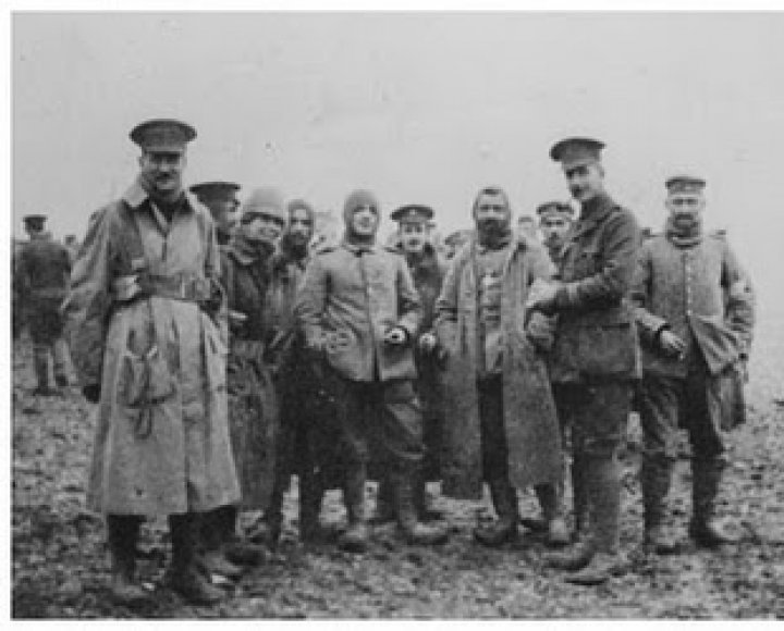 A Barumite's Experience at the Front at Christmas 1914