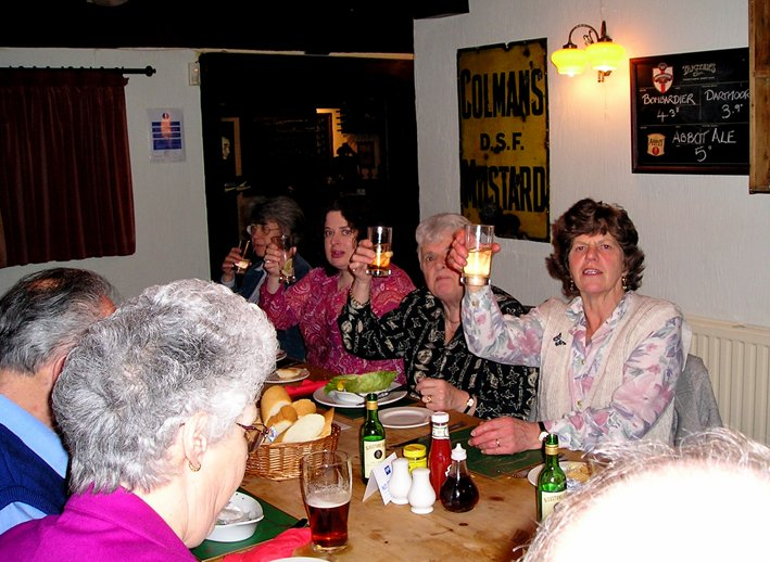 St Mary's Church, Pilton, Bellringers Annual Dinner 2004 (Photo 2)