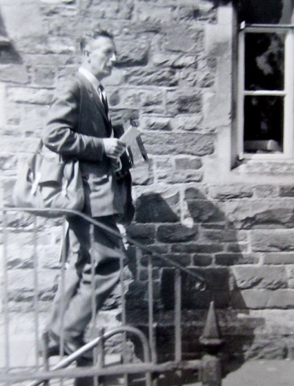 Mr Charles Sherratt, Head teacher of Pilton Junior School 1962