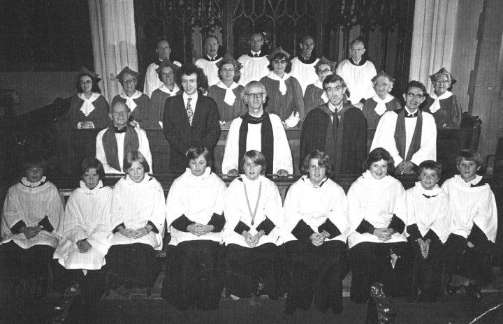 Pilton Church Choir 1975