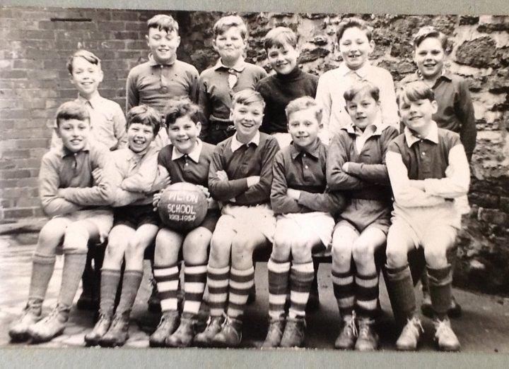 Pilton School Football Team 1953-54