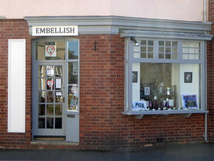 Another new shop comes to Pilton - 'Embellish' at 2 Pilton Street