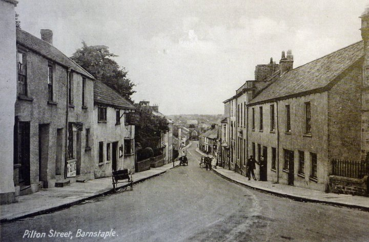 View from the top of Pilton Street around 1900