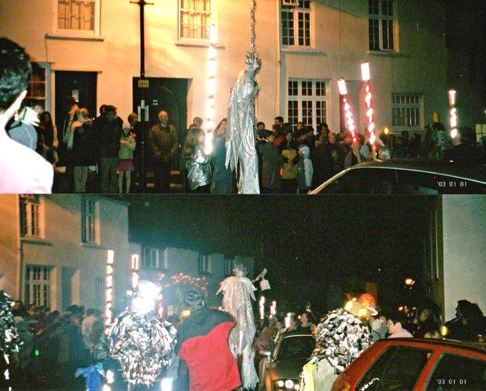 Pilton New Year Parade 2001