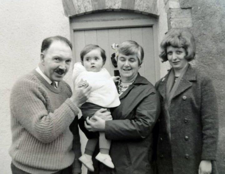 Bill and Mary Norman of 5 Pilton Street