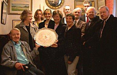 Pilton Festival wins the RAF Community Plate in 2004