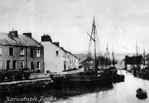 Rolle Quay around 1900