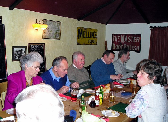 St Mary's Church, Pilton, Bellringers Annual Dinner 2004 (Photo 1)