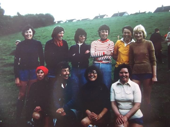 Lynbro Road Ladies' Silver Jubilee Football Team