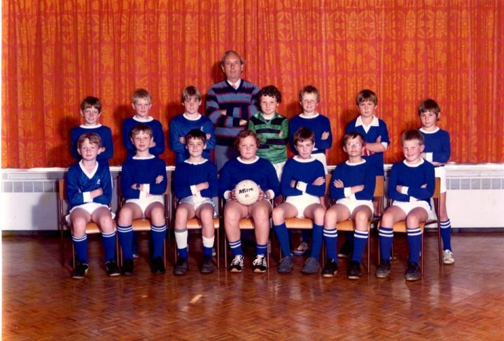 Pilton Bluecoat School Football Team early 1980s
