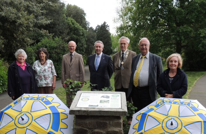 Historic Rotary Gardens Makeover Marks 40th Anniversary of Creation by Barnstaple Rotary Club
