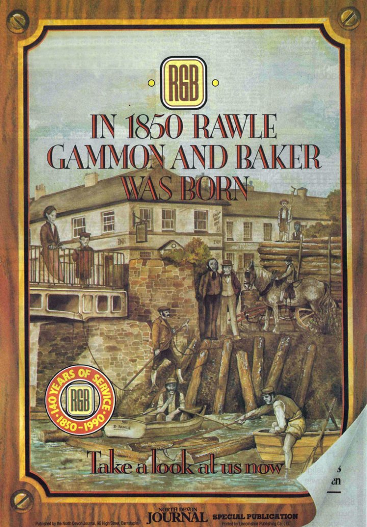 Rawle, Gammon and Baker - 140 years old in 1990