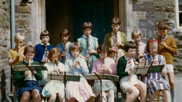 Pilton School Recorder Group 1967