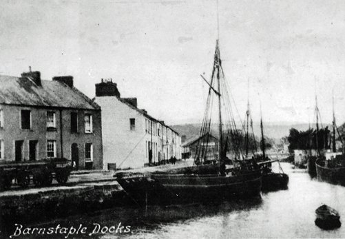 Rolle Quay around 1900