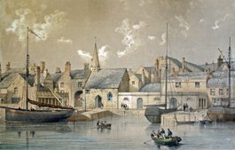 The Sailing Smack 'John and Ann' brings new Church Bells to Pilton in 1854
