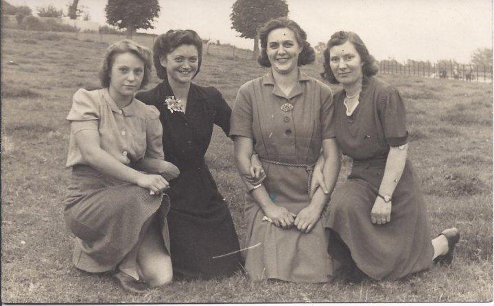 Victory Celebrations at Pilton Glove Factory 1945
