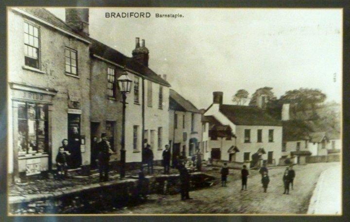 Bradiford around the beginning of the 20th Century