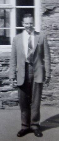 Mr Tiltman, Teacher at Pilton Junior School 1962