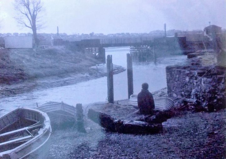 Quay reflections on days of fishing in the 1950s by Sylvia Mullen (neé Pert)