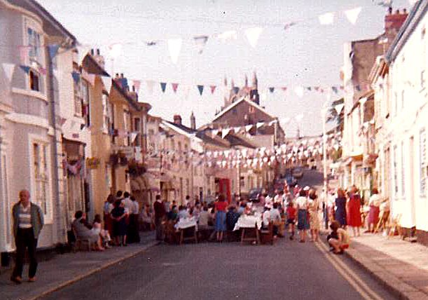 Pilton Street Party for the Wedding of Charles and Diana on 29th July 1981