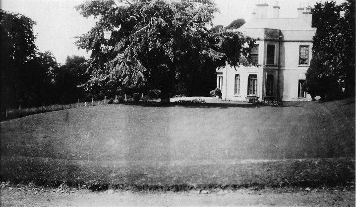 Pilton House Lawn in 1916