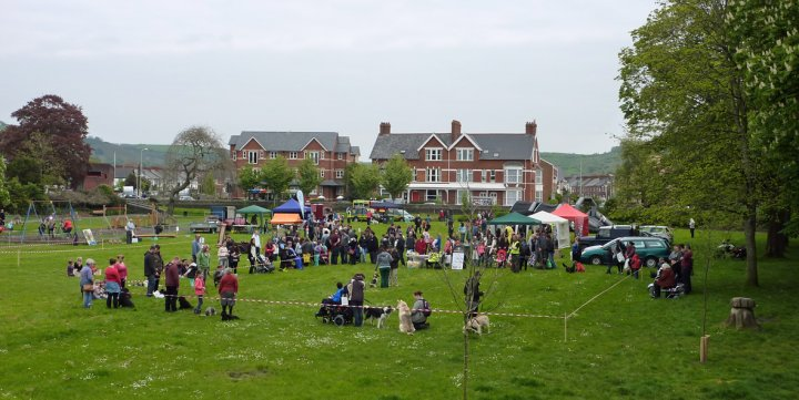 Barnstaple Town Council, Community Day, Pilton Park, 3rd May 2014 at the end of 'Tidy Up Our Town' Week
