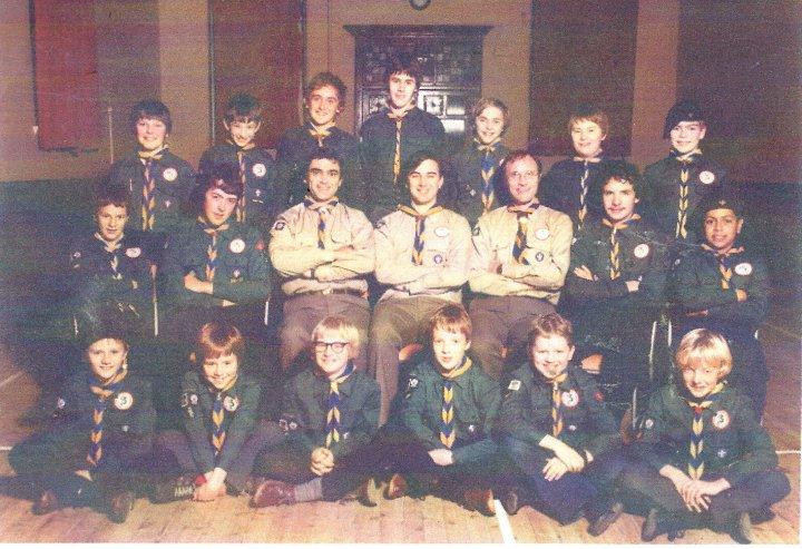12th North Devon (Pilton) Scouts in 1982