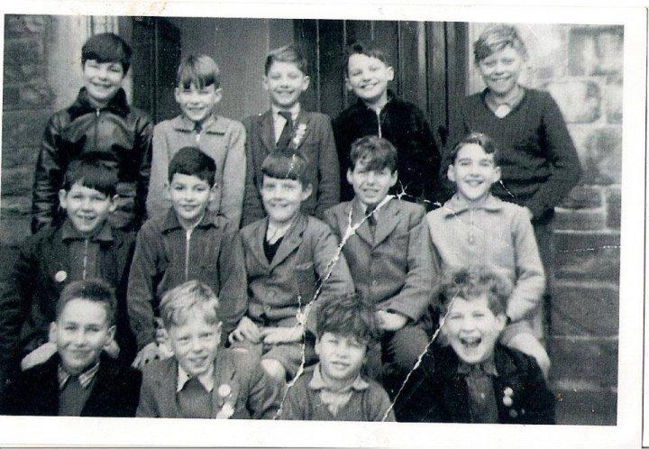 Boys of Pilton School in 1955