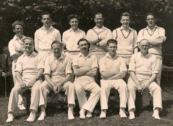 Pilton Cricket Club about 1950